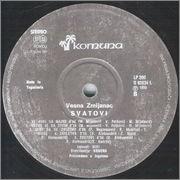Vesna Zmijanac - Diskografija  Vesna_Zmijanac_1990_1_s_B