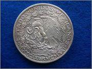 2 pesos mejicanos1921 conmemorativos del centenario de la  consumacion de la Independencia  2_pesos_mejicanos_1921