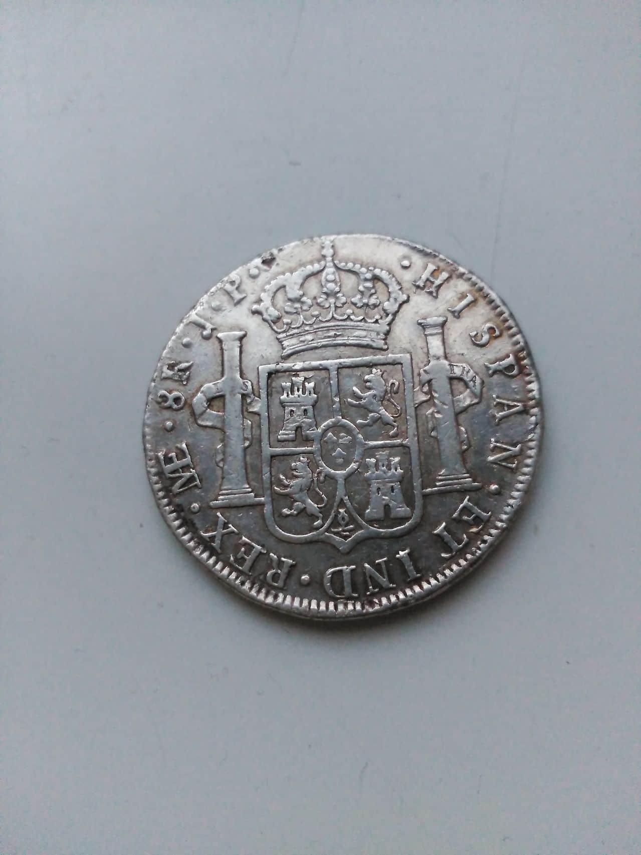 8 reales de Fernando VII cara indígena 1810  3_2