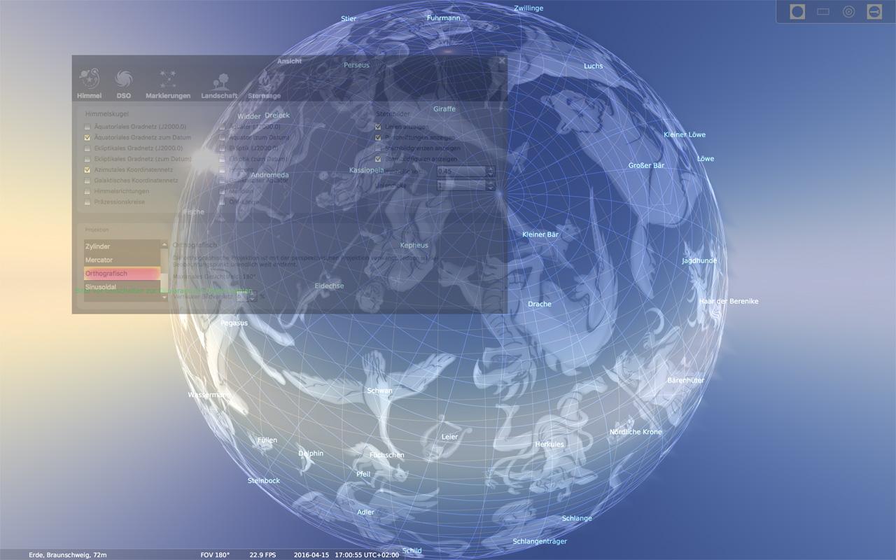 Die Erde, in der wir leben und der Raum, der die Welt ist - Seite 49 Stellarium_01