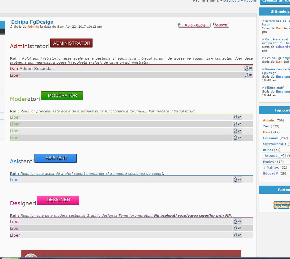 cerere cod de la echipa forum  Capture
