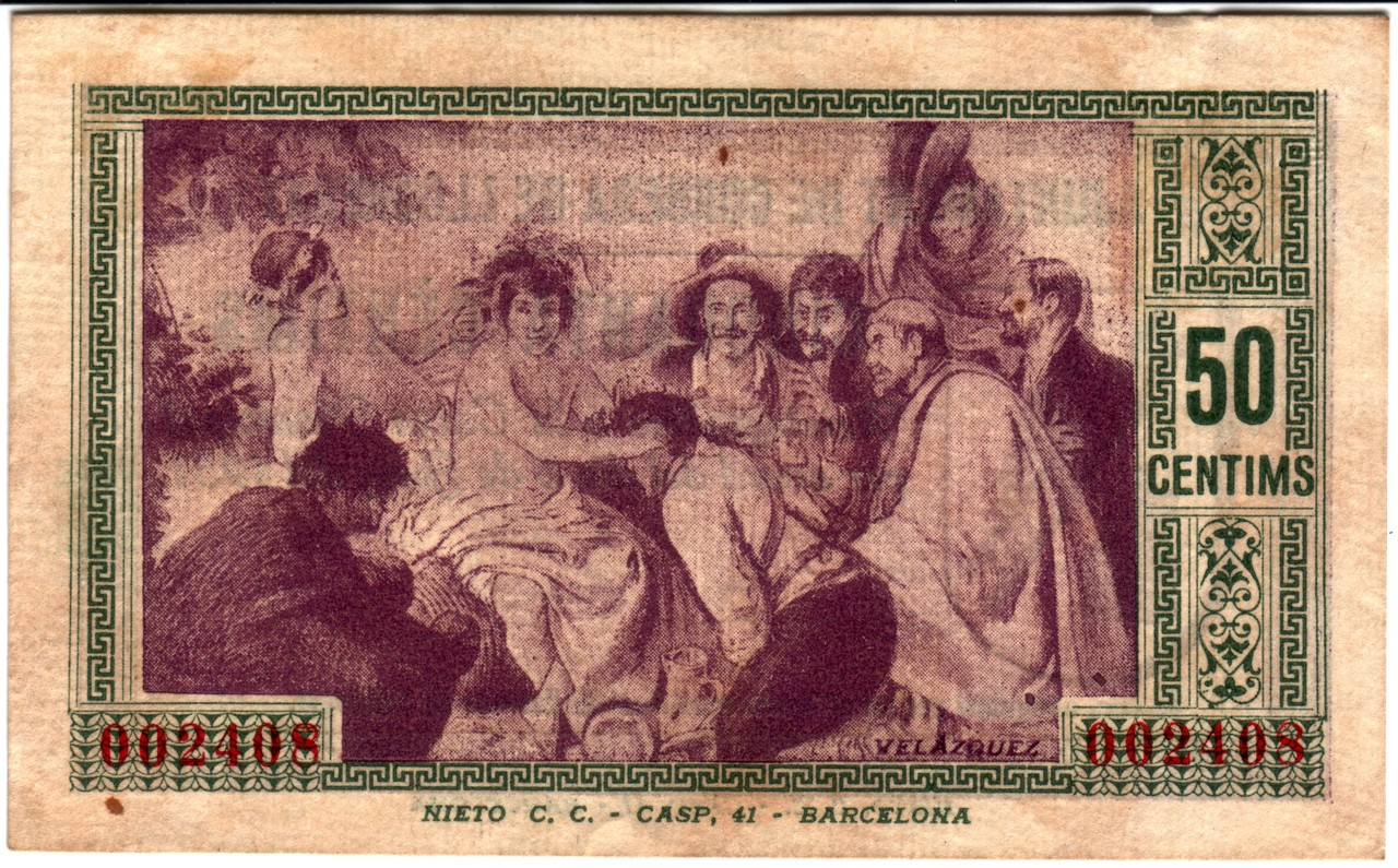 50 Céntimos Corbera de Llobregat, 1937 Corbera2