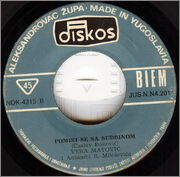 Vera Matovic - Diskografija 1974_zb