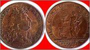 Jetón de Luis XIV. 1679. HAEC META LABORUM. 1679_LUIS_XIIII