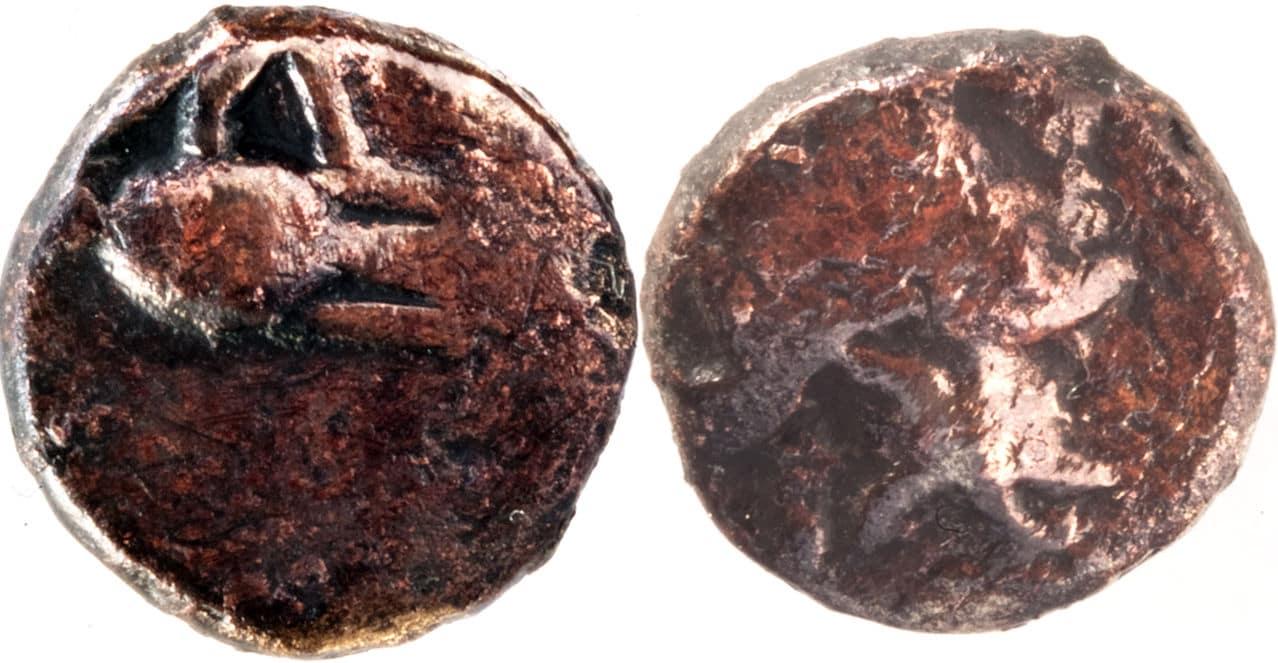 AE9 de Atenas. Atenea - Mochuelo sobre ánfora. 195-190 a.C. Griega_02