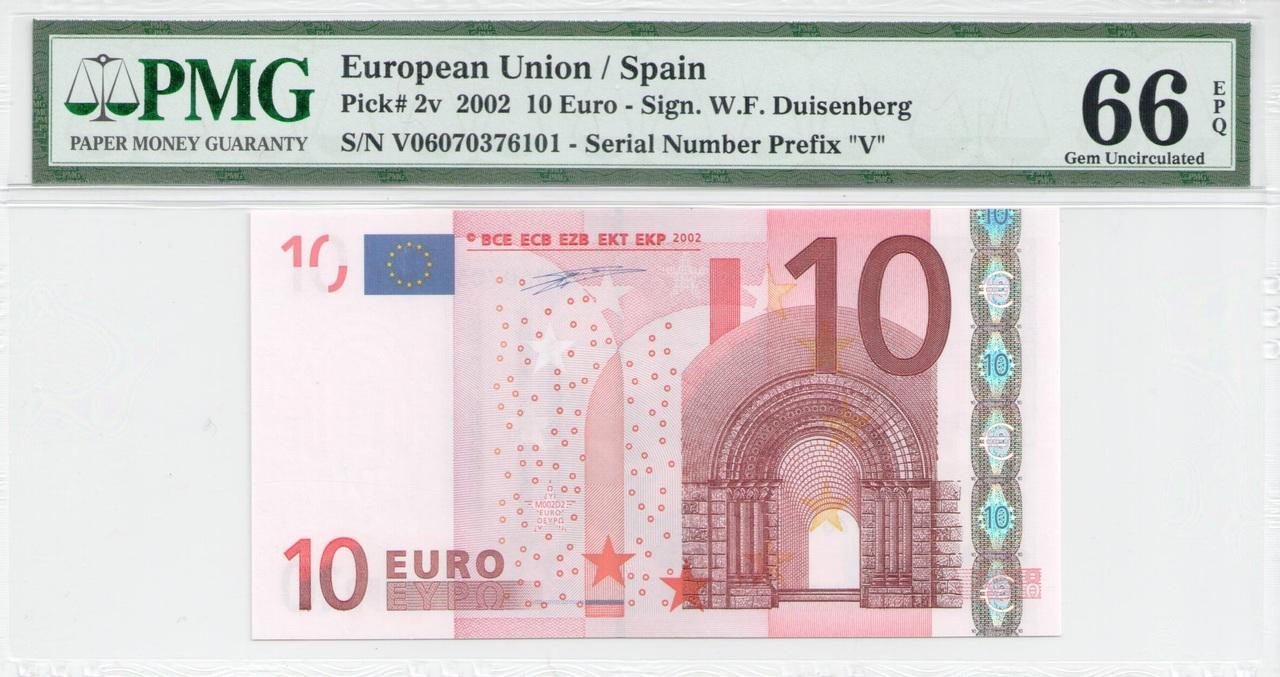 Colección de billetes españoles, sin serie o serie A de Sefcor - Página 3 10_euros_duis_anverso