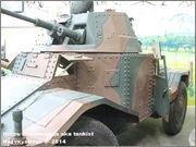 "Французский бронеавтомобиль ""Panhard"" AMD 178,  Musee des Blindes, Saumur, France Panhard_Saumur_042"