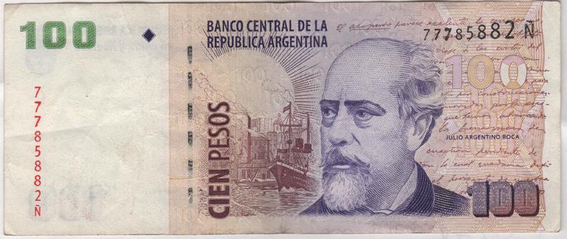 """Billetes del mundo con serie """"Ñ"""" Letra"""
