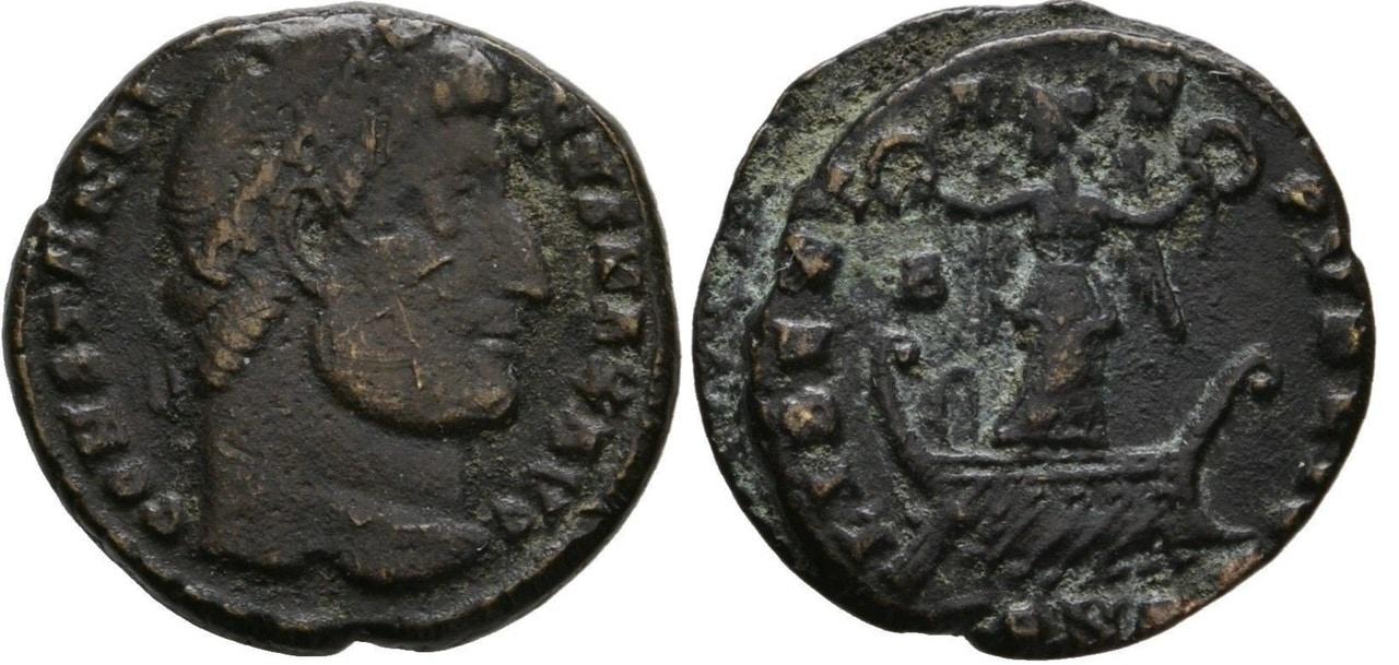 AE3 de Constantino I.  CONSTANTINO_I