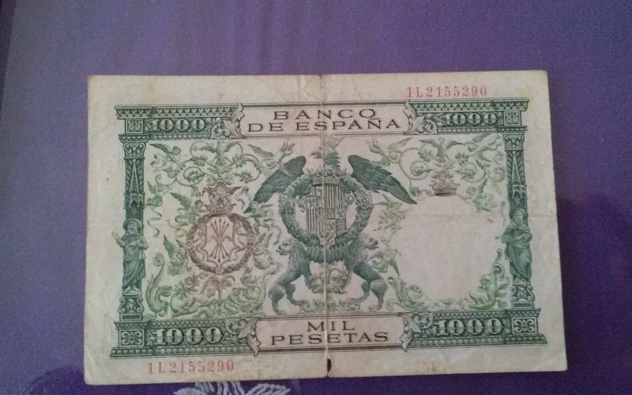 1000 pesetas de 1957 1411056064798