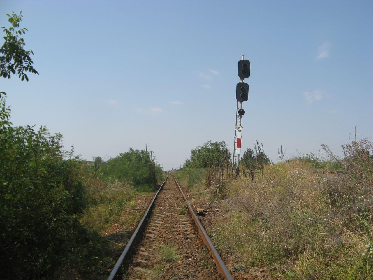 Calea ferată directă Oradea Vest - Episcopia Bihor IMG_0070