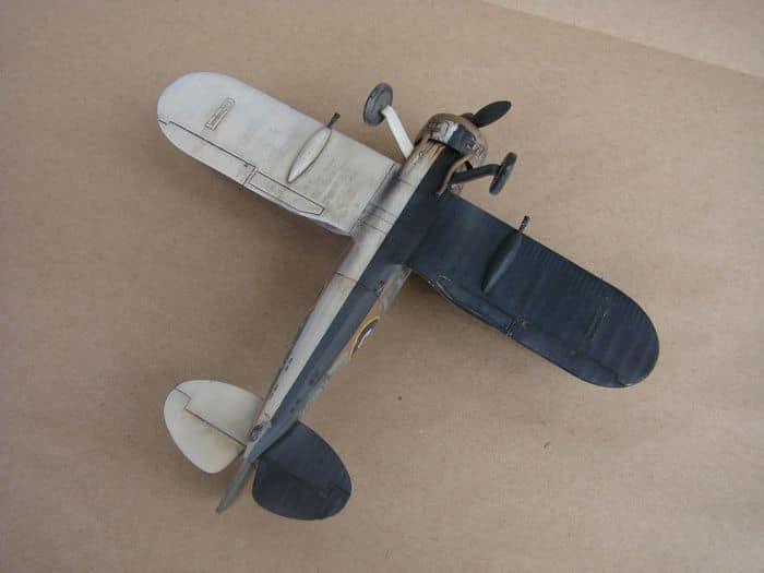 Gloster Gladiator Mk.I, Matchbox/Revell, 1/72 DSC03058