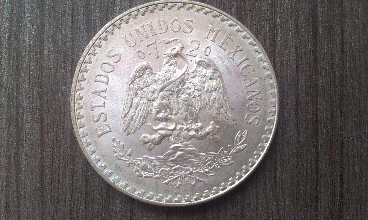 1 Peso. México. 1944 IMAG1492