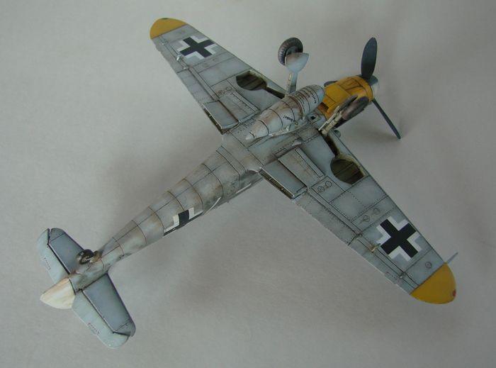Messerschmitt Bf-109G-6, KP, 1/72 DSC03973