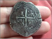 8 reales Carlos II, 1694, Lima IMG_1882