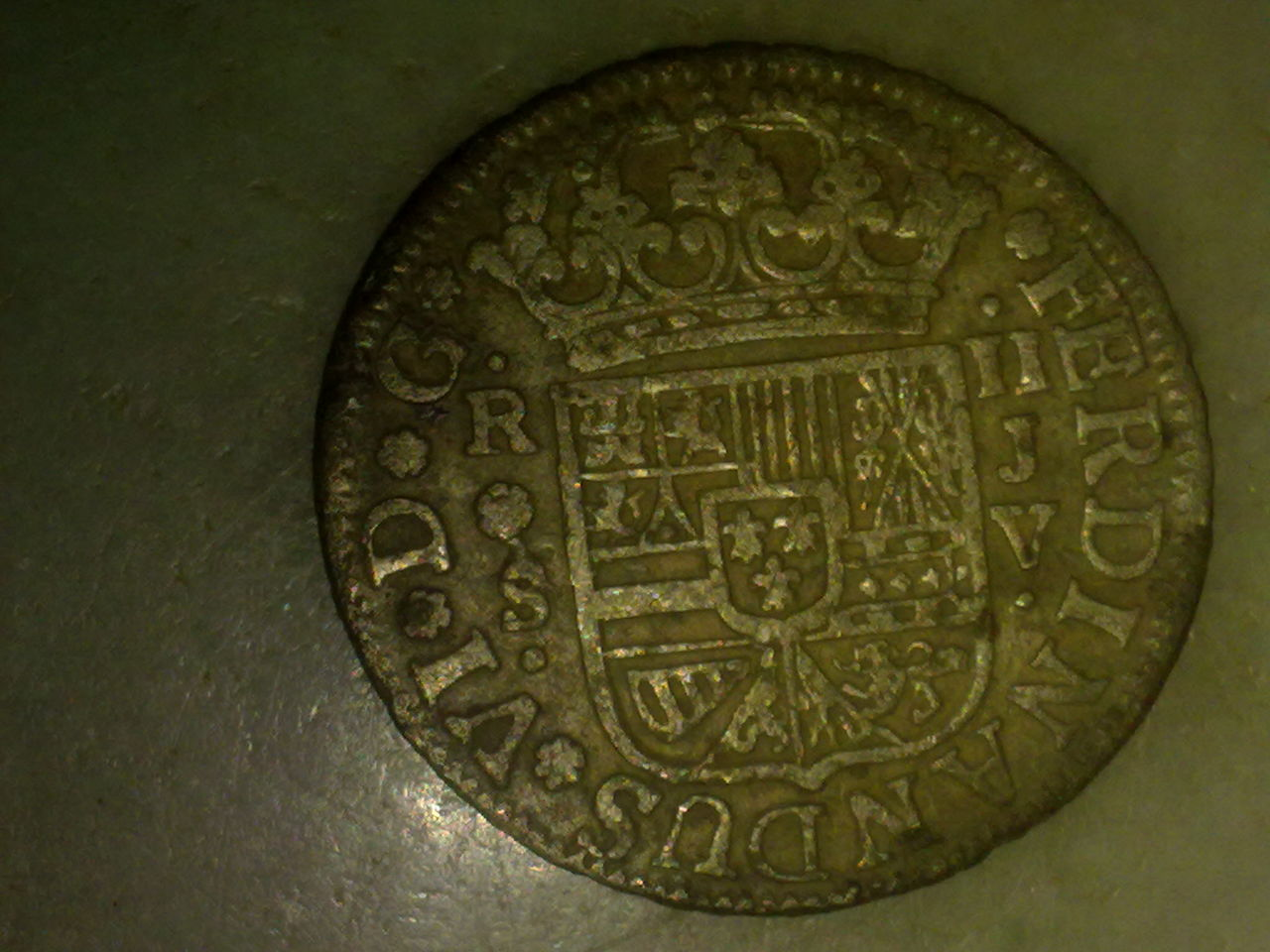 2 reales de Fernando VI, Sevilla. 1758. P_010
