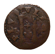 vellon de Carlos V , ceca de Napoles. DSC06824
