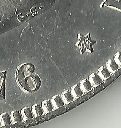 5 pesetas 1876 *18*76 - Alfonso XIII. 1876_76