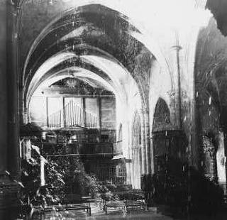 1 Peseta Caspe, 1937 Organo