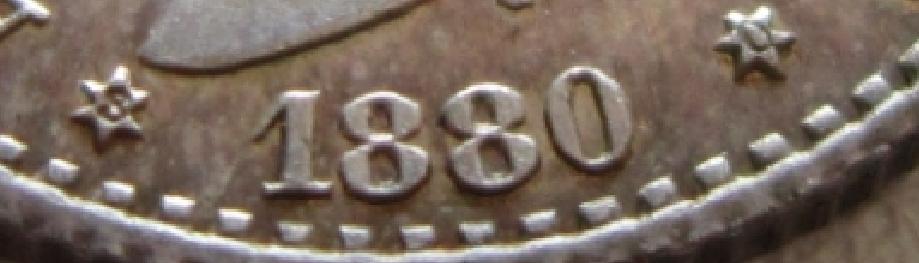 50 CENTIMOS 1880 ALFONSO XII SC/EBC+ Estrellas