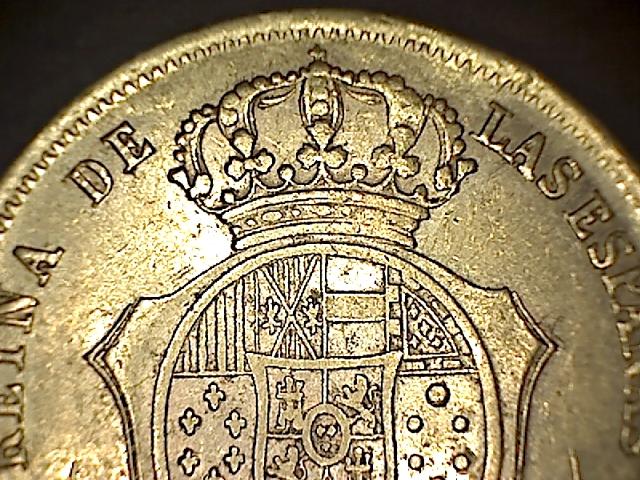 100 reales 1859 Isabel II - Barcelona 14022302561551778541