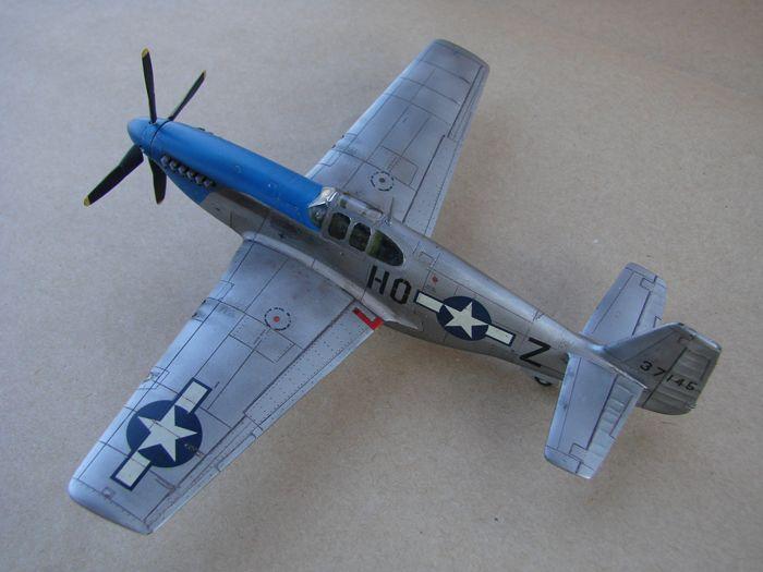 Mustang x2 P-51B Revell & P-51D Tamiya, 1/72 DSC09765