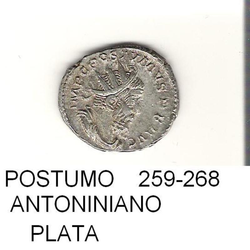 antoniniano de Postumo año 259 - 268  IMPERIO_ROMANO_26