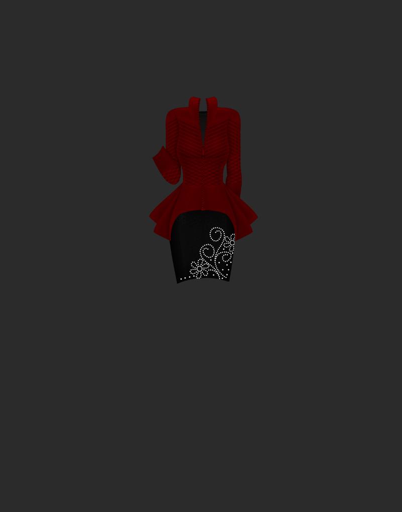 Haute Crimson D73je883