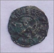 "Dinero ""bienpeinao"" de Alfonso VIII (1158-1214) de Toledo  102_2229"