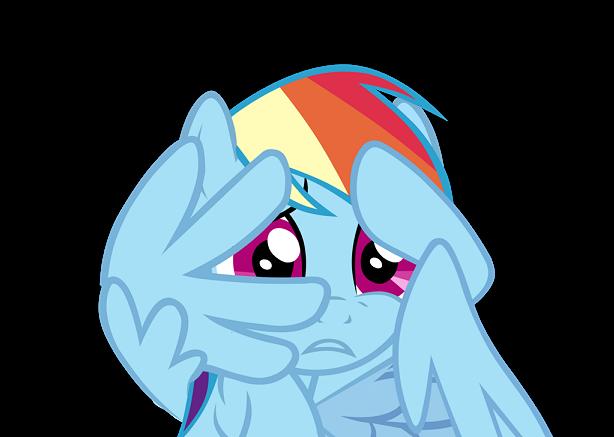 Buster Behaving Badly Rainbow_dash_scared_by_aborrozakale_d7r8heq