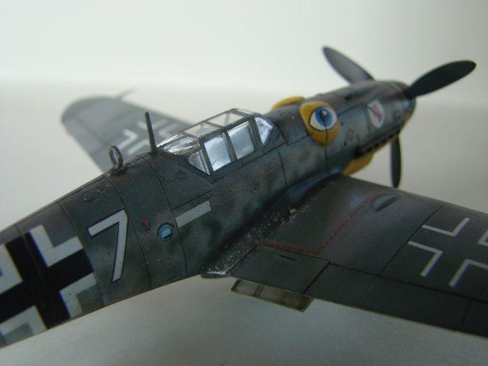 Messerschmitt Bf-109G-6, KP, 1/72 DSC03967
