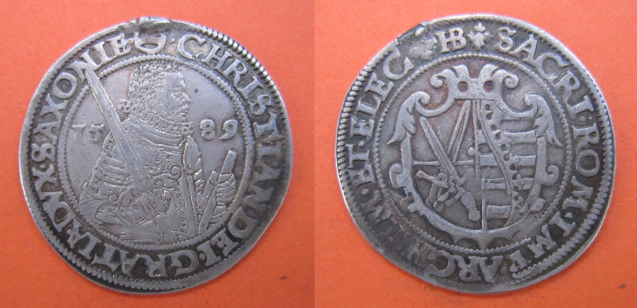 1/4 Taler 1589 Sajonia Taler_1589_Sajonia
