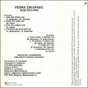 Vesna Zmijanac - Diskografija  1986_1_ka_z