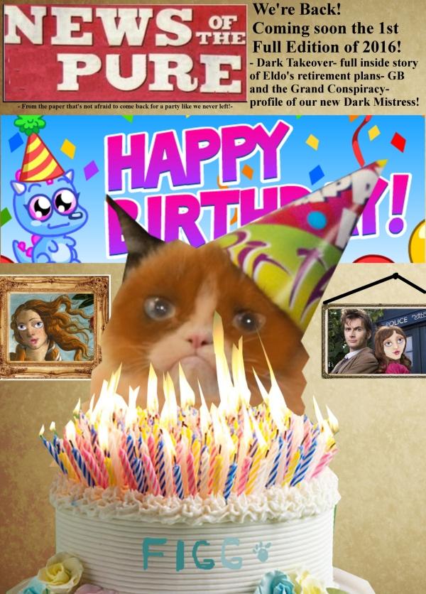 Happy Birthday Mrs Figg!!! Front