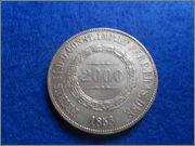 2000 Reis Pedro II 1856 Brasil DSCN2021