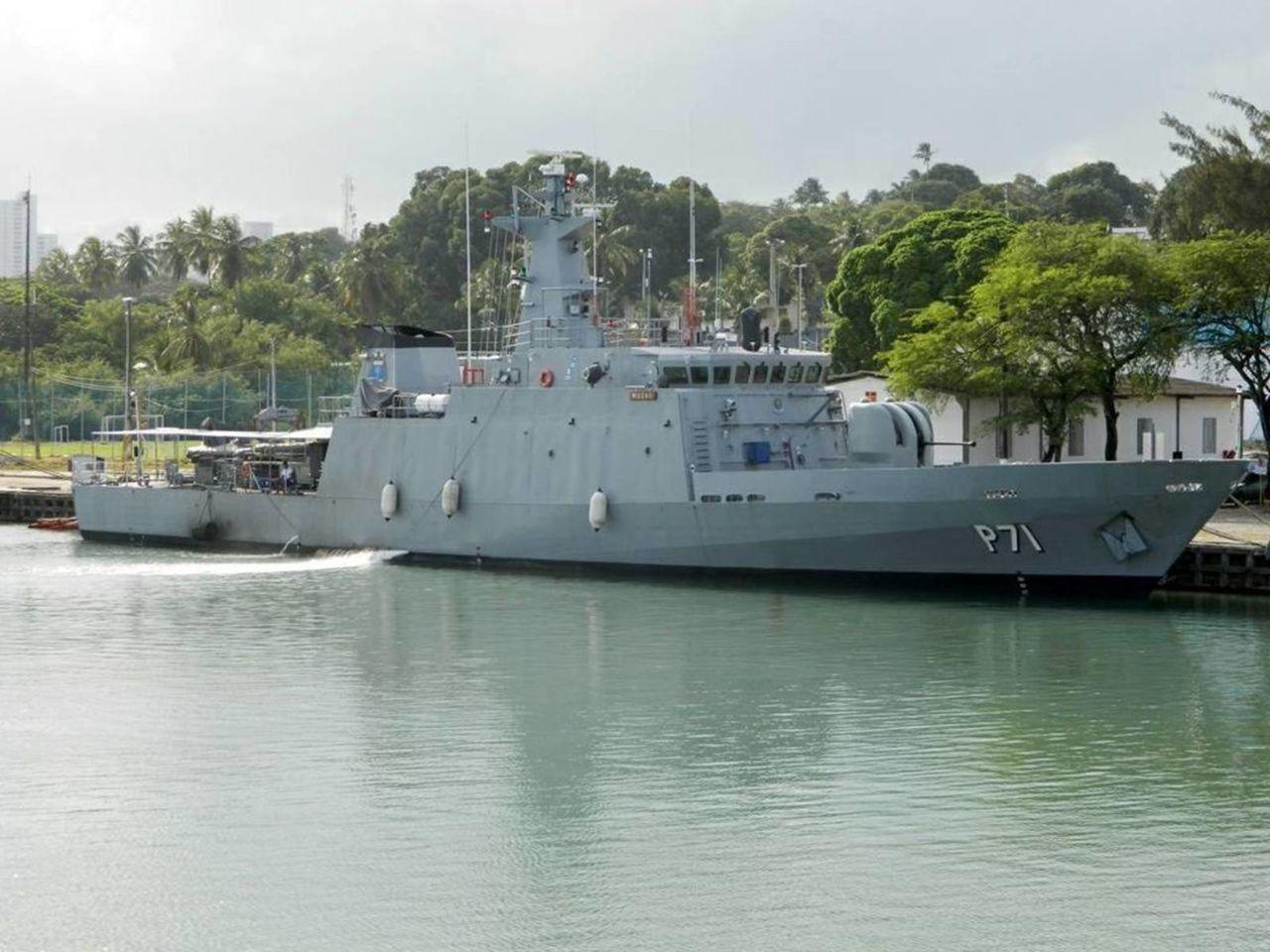 El primer patrullero de la clase Macaé inicia su vida operativa en la Marina de Brasil. P71macaeclass_BRASIL