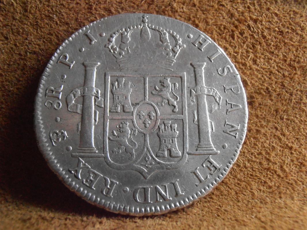 8 Reales 1813. Fernando VII. Potosí. P J P5140004