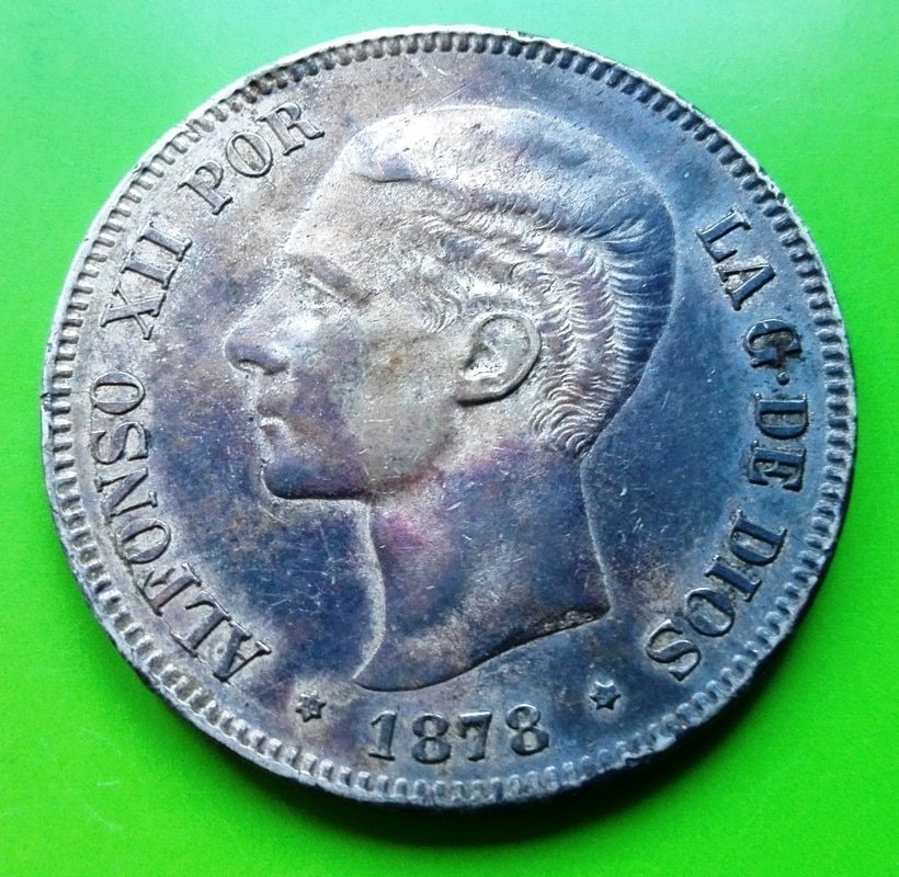 5 pesetas 1878. Alfonso XII. EMM 5_pts_1878