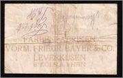 100000 Marcos Alemania 1923 (Billete de necesidad de la Compañía Bayer) Bayer2
