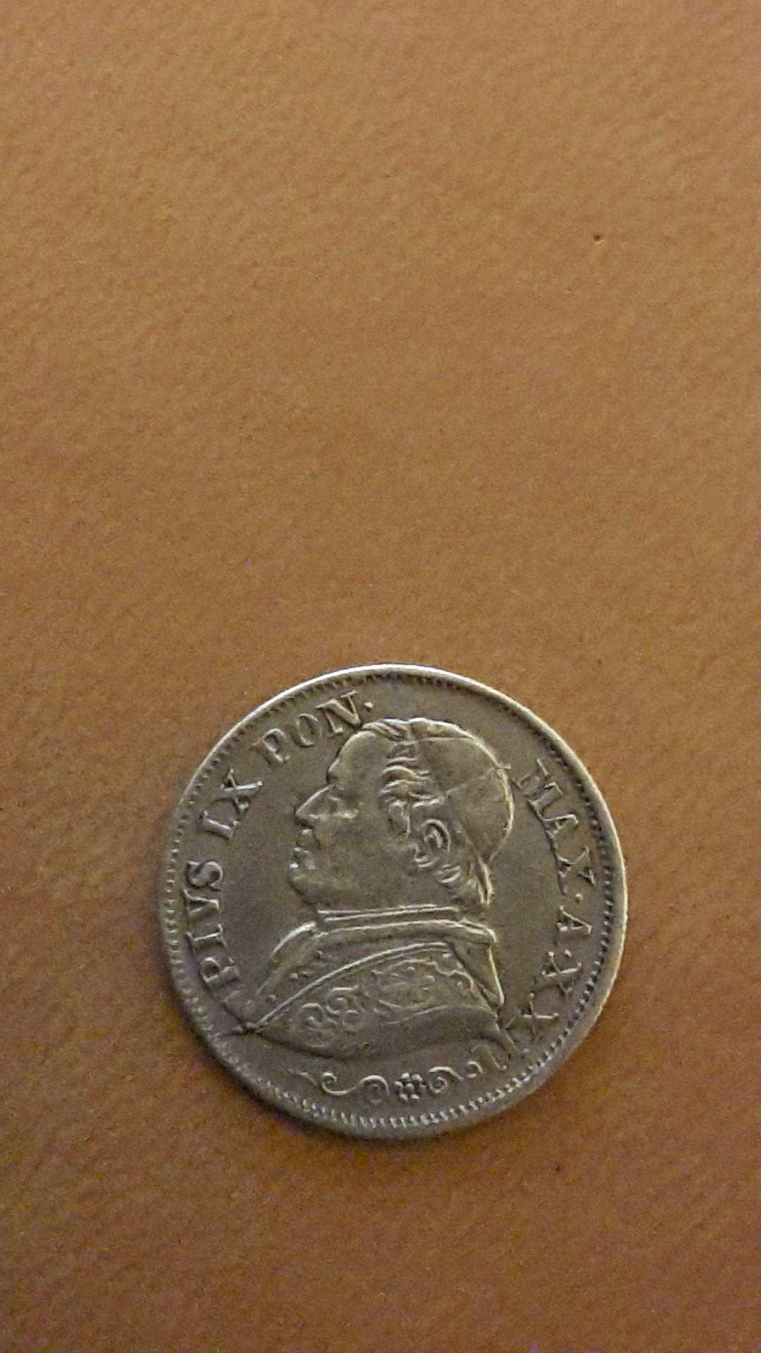 10 soldi 1867 Estados Papales 20141122_023931