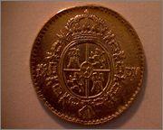 1/2 escudo de Carlos III, Madrid. 1787. 370b