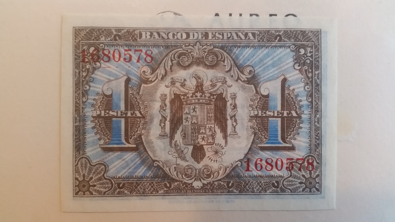 Colección de billetes españoles, sin serie o serie A de Sefcor pendientes de graduar 20161217_120225