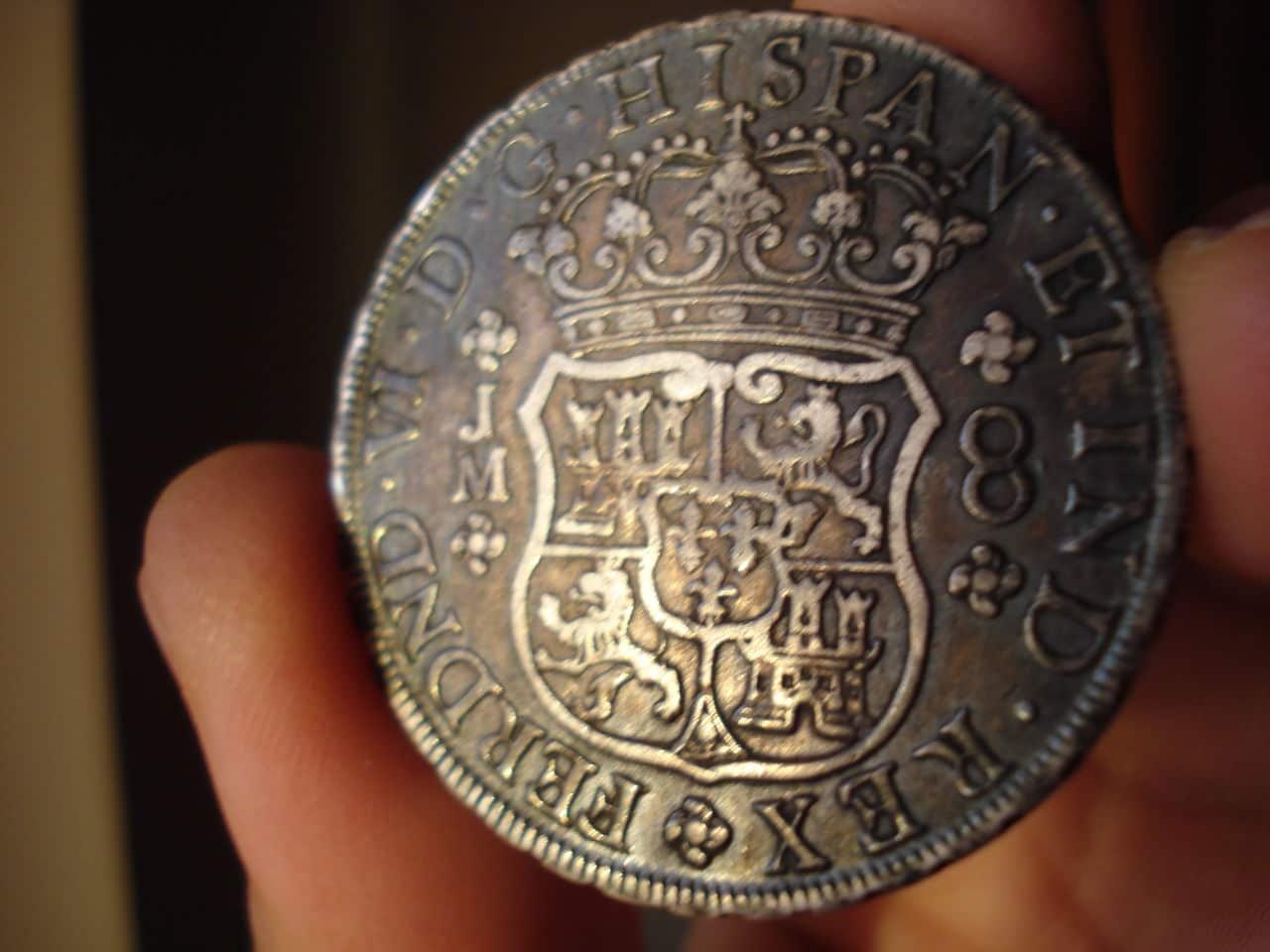 8 REALES FERNANDO VI 1755 LIMA Monedas_016