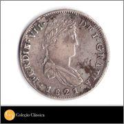 8 Reales 1821 Zacatecas. RG 57_4