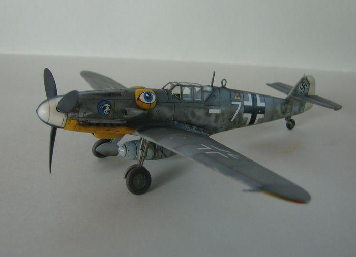 Messerschmitt Bf-109G-6, KP, 1/72 DSC03960