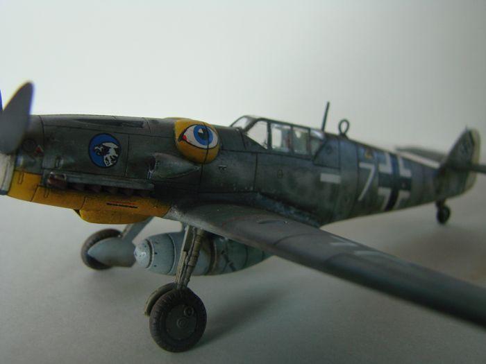 Messerschmitt Bf-109G-6, KP, 1/72 DSC03961