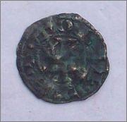 "Dinero ""bienpeinao"" de Alfonso VIII (1158-1214) de Toledo  102_2227"
