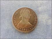 8 reales 1811 Fernando VII (Busto Indígena) - Lima - Dedicada a Lanzarote y Emiliano 20140222_142358