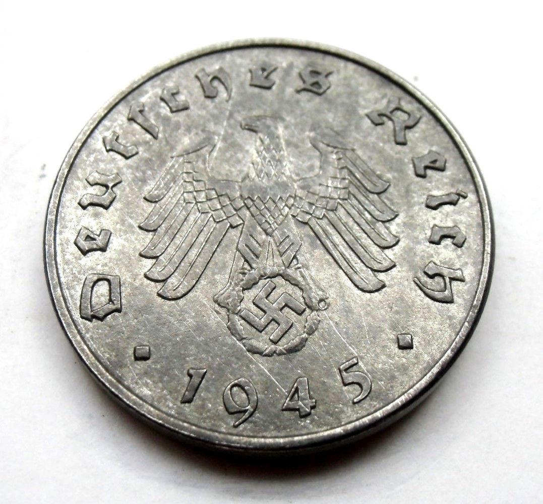10 REICHSPFENNIG 1945  1945c