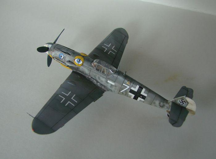 Messerschmitt Bf-109G-6, KP, 1/72 DSC03959